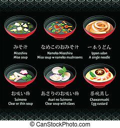 スープ, 日本語