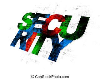セキュリティー, デジタル, concept:, 背景, プライバシー