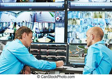 セキュリティー, ビデオ監視