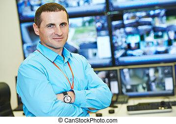 セキュリティー, ビデオ監視, 責任者