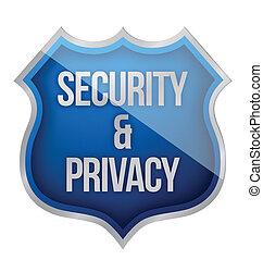 セキュリティー, 保護, プライバシー