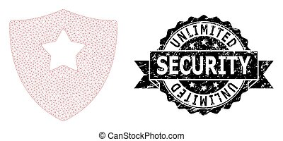 セキュリティー, 噛み合いなさい, 無制限である, 保護, シール, リボン, 監視, 苦脳, ネットワーク