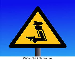 セキュリティー, 武装させられた, 監視, 印