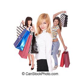 セクシー, 買い物, 女性