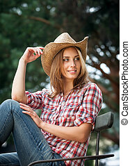 セクシー, cowgirl.