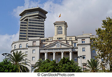 セクター, de, 海軍, cataluna