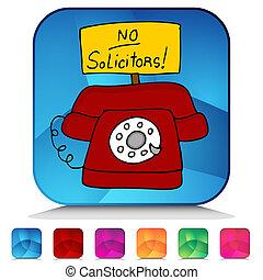 セット, いいえ, ボタン, solicitors, 電話, 水晶, モザイク