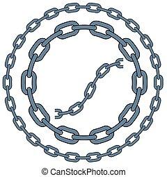 セット, の, ベクトル, 鎖