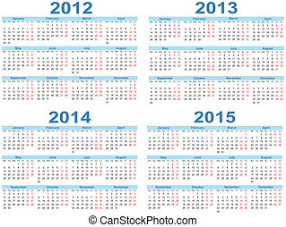 セット, の, 2012, -, 2015