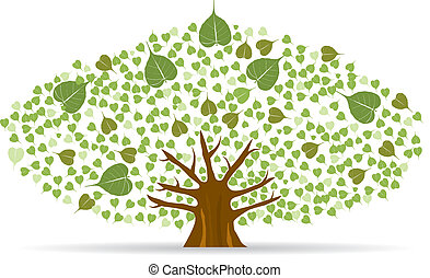 イチジクの木ベクタークリップアートイラスト327 イチジクの木クリップ