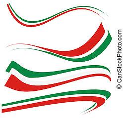 セット, イタリアの 旗
