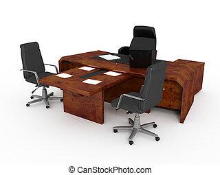 セット, オフィス家具