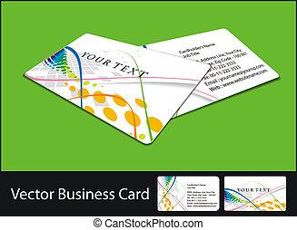 セット, カード, ビジネス