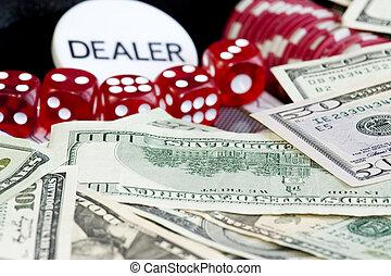 セット, ギャンブル