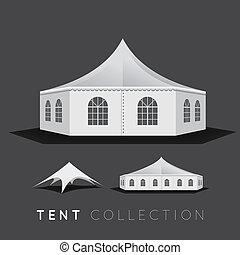 セット, テント