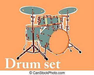 セット, ドラム