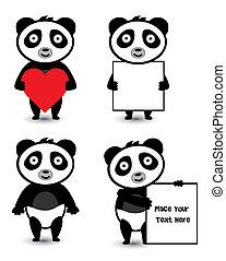 セット, パンダ