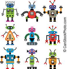 セット, ベクトル, ロボット