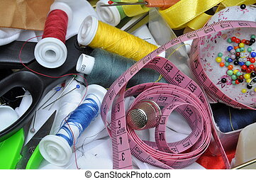 セット, 付属品, 裁縫