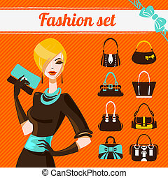 セット, 女, ファッション