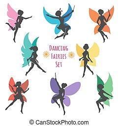セット, 妖精, ダンス