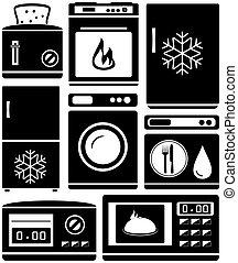 セット, 家, 器具, ∥ために∥, 台所