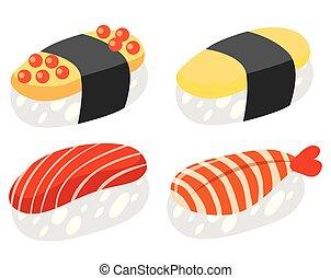セット, 寿司, 日本語
