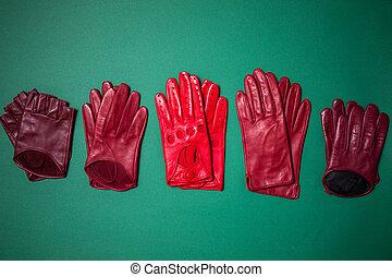 セット, 手袋, 調子, ブルゴーニュ