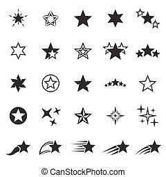 セット, 星, アイコン