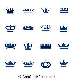 セット, 王冠, アイコン