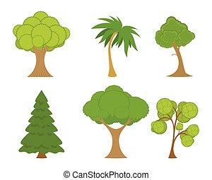 セット, 緑の木
