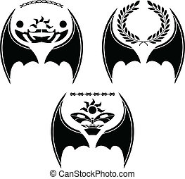 セット, 翼, ドラゴン