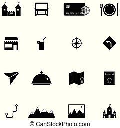 セット, 観光事業, アイコン