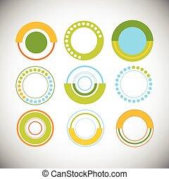 セット, 財政, 金融, ビジネス, グラフ, パイ, 図, infographic, 円