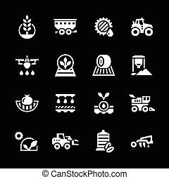 セット, 農業, アイコン