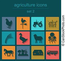 セット, 農業, 動物, 農業