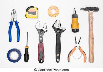 セット, 道具
