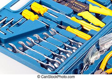セット, 道具, metalwork