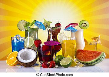 セット, 飲み物, アルコール, 成果