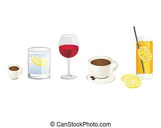 セット, 飲み物