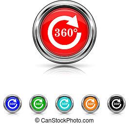 セット, 6, -, 色, reload, 360, アイコン