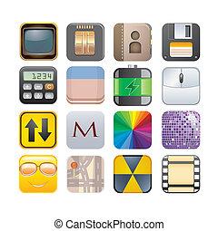 セット, apps