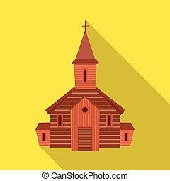 セット, stock., 正統, シンボル。, イラスト, ベクトル, 教会, 聖書, アイコン