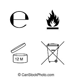 セット, symbols., 包装