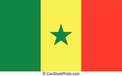 セネガルの旗, イメージ