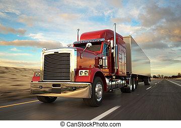 セミトレーラー, トラック