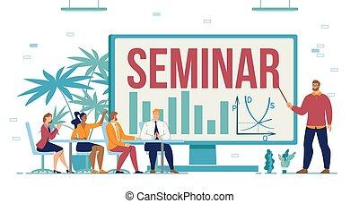 セミナー, 訓練, コース, ビジネス, 企業家
