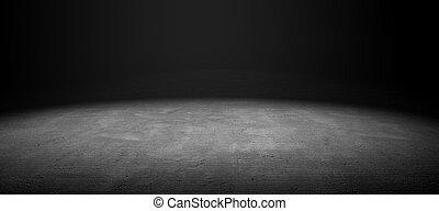 セメントの 床
