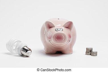 セービング, あなたの, エネルギー, お金