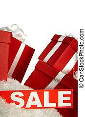 セール, そして, 贈り物